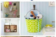 Bathroom Organization / Get organized in the bathroom!