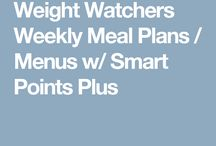 Weight Watchers Weekly Meal Plans