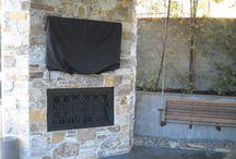 Outside Doors / Outside Doors | Outside Fireplace Doors | Custom made Fireplace Doors in California and Arizona