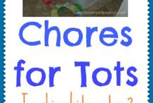 Toddler chores / by Krista Rowley