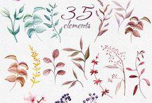 Kwiaty - grafiki