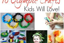 Kids Crafts Olympics