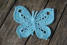 Háčkování - motýli