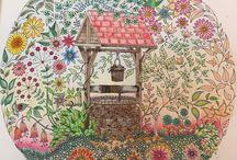 Saját Johanna Basford színezéseim