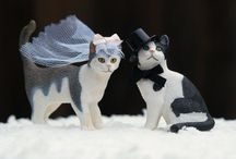Time for toppers / Wedding cake topper