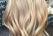 blonde highlights natural balayage