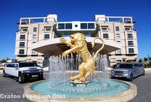 Cratos Premium / Cratos Hotel Kıbrıs adasının en lüks tesisidir. Girne şehrinde yer alan Cratos Premium Hotel muhteşem konumu ve sahili ile konaklayan misafirlerini kendisine hayran bırakmayı başarmıştır.
