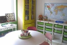 homeschool room / by Kelsi Rea