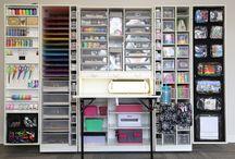 Craft room / #workspace #craftbox