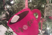 felt ornaments / by Patty Gravel