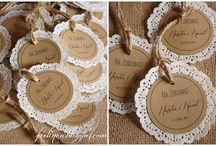 dekoracje rustykalne wesele