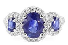 Sapphire Rings / Gorgeous blue rings for any occasion.