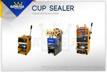 Mesin Cup Sealer Ramesia / Cup Sealer Murah dan Berkualitas Bagus