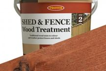 Protek Shed & Fence Stain / A time tested market favourite, Shed & Fence Wood Treatment is a waterproof wood stain that is long lasting and enhances the natural beauty of wood. Protek Shed & Fence treatment is a cost effective wood stain that can be applied to planed (finished) as well as rough sawn timber. This wood stain contains wax additives for the extra protection of a water resistant coating.