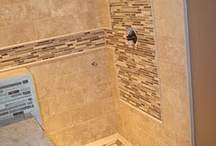 Bathroom tile / by Marcy Larson