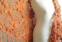 Esarfe tricotate
