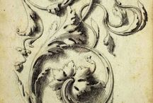 Acanthus leaf and ornament