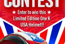 Helmet Contests / Contests to win riding helmets / by Riders4Helmets