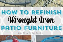 Painting wrought iron