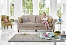 Home Comforts / Match relaxing colour schemes with comfy sofas and accessories that celebrate your individuality but create the warm creature home comforts that we all love.