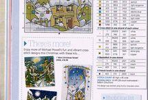 Michael Powell Cross Stitch Kits….. one day…..