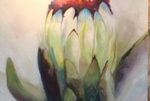 protea paintings