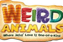VBS - Weird Animals / Weird Animals: Where Jesus' Love is One of a Kind! 2014 Easy VBS from Group. Jesus loves you even when...you're left out, you're different, you don't understand, you do wrong, and when you're afraid. / by Christianbook.com
