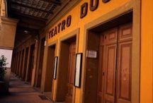 Il Teatro Duse è tra più antichi edifici di Bologna / Il Teatro Duse è tra i più antichi edifici di Bologna, dedicato a manifestazioni teatrali sin dalla metà del XVII secolo.  La struttura attuale, con due gallerie, un loggione, due foyer oltre al ridotto, risale ai lavori di ammodernamento del 1940.