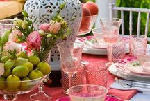 table scape / by Tammy Goldsmith Perkins