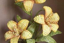 fiori con cannucce