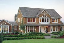Two Story Modular Homes / Two-story modular homes provide classic style, room to grow, and a number of design options.  / by Homes By Vanderbuilt