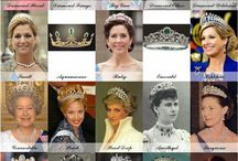 Tiaras - My Ultimate Collection / Over 2013, the readers of Royal Order of Sartorial Splendour voted for their ultimate collection of tiaras. This board is my own personal collection and doesn't entirely match the categories the blog used.
