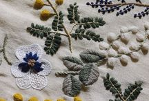Embroidery / Inspirational ideas for embroidery projects