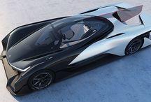Faraday FFZero1 electric car