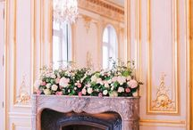 Chimney Mantle - Real weddings by Fete in France