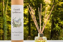Castell Apothecary Reed diffusers
