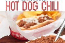 Hotdog chilli