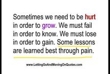 Pain Quotes / http://www.lettinggoandmovingonquotes.com/category/pain-quotes/
