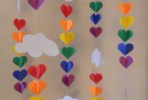 Cloud & raindrops party