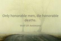 Wolf of Antimony Quotes