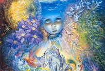 Child of the Universe / Sun, Moon, Galaxies, Solars, Gaia, Oceans, Lakes, Mountains - LIFE.