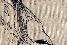 Fågelbroderi