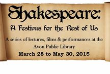 Shakespeare at the Library / Shakespeare programs at the Avon Public Library / by Avon Free Public Library