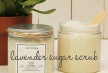 Vegan Sugar Scrubs
