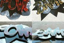 Signs & Wall Art / Custom fabricated signs and wall art.