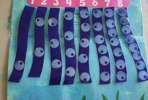 2. matematiikka, muodot, värit / muodot, värit, lukumäärät, luokittelu, lajittelu, avaruudellinen hahmottaminen
