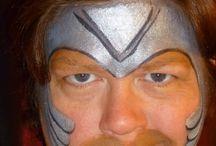 Face paint karnevaalit