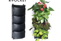 Florafelt Vertical Planters / Florafelt Vertical Garden Planters are fashioned from 100% recycled water bottles, creating a soft, luxuriant fabric that is non-toxic, UV stable and will last a lifetime. Recycled synthetic material creates an ideal environment for vertical gardens, and artists and architects favor them over organic materials that decay quickly.