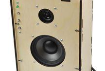 rectangle MDF speaker 1