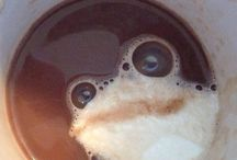 coffe frog